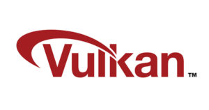 Vulkan logo. (tm) Khronos Group.