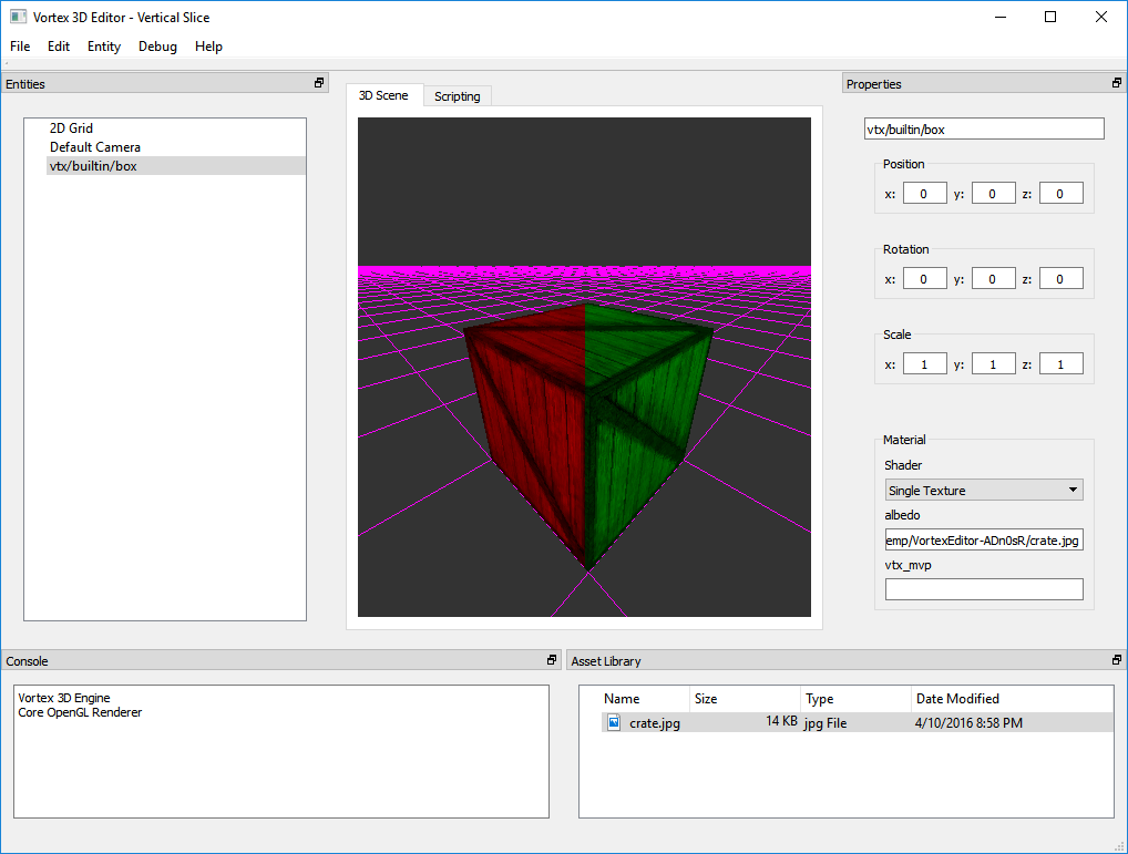 A test of the Multi-Render Target functionality in Core OpenGL 3.3